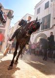 Festividad 054 del caballo de San Juan Fotos de archivo
