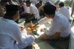 Festividad en la mezquita Fotos de archivo