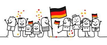 Festividad nacional - Alemania stock de ilustración