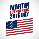 Festividad nacional de Martin Luther King Day Imagen de archivo