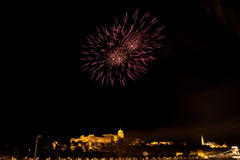 Festividad nacional en Budapest Imagen de archivo