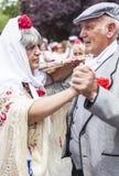 Festividade do ` de San Isidro do `, consumidor do Madri, o 15 de maio de 2017, Madri, Espanha Fotos de Stock