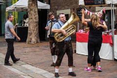 Festividades da cidade Imagem de Stock Royalty Free