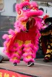Festividades para celebrar Año Nuevo chino en Londres por año de Fotografía de archivo