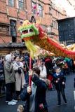 Festividades para celebrar Año Nuevo chino en Londres por año de Fotos de archivo
