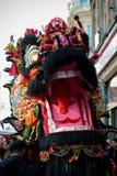 Festividades para celebrar Año Nuevo chino en Londres por año de Imagen de archivo libre de regalías