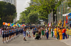 Festività 2012 di sport di PNP Immagini Stock