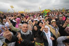 Festività curda Newroz Fotografie Stock Libere da Diritti