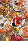 Festività dei frutti di mare Immagini Stock Libere da Diritti