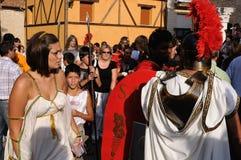 FESTIVITÀ del BACCHUS. Burgos .SPAIN Immagine Stock Libera da Diritti
