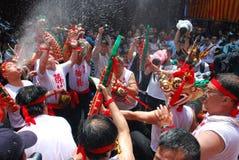 Festività del drago ubriaco Fotografia Stock