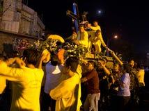 Festività del Nazarene nero in Mindanao, Filippine Fotografie Stock