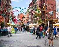 Festività di NYC di San Gennaro Immagine Stock