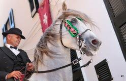 Festivité de cheval de St John au loin Photographie stock