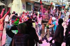 Festivités de Holi Photo stock