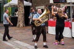 Festivités de ville Image libre de droits