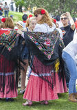 Festiviteit van ` San Isidro `, patroon van Madrid, 15 Mei, 2017, Madrid, Spanje Stock Foto's