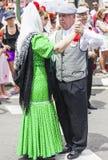 Festiviteit van ` San Isidro `, patroon van Madrid, 15 Mei, 2017, Madrid, Spanje Royalty-vrije Stock Fotografie