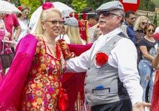 Festiviteit van ` San Isidro `, patroon van Madrid, 15 Mei, 2017, Madrid, Spanje Stock Afbeelding