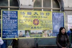 Festiviteiten om Chinees Nieuwjaar in Londen voor jaar van te vieren stock fotografie