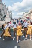 Festiviteiten ter ere van de verjaardag van de 870ste verjaardag van Royalty-vrije Stock Foto