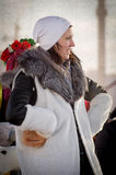 Festivities on Christmas day in Gomel Stock Photography