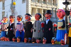 Festivities. In Viana do Castelo in the north of Portugal Stock Photography