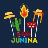 Festivity june illustration. Icon vector design graphic colorful stock illustration