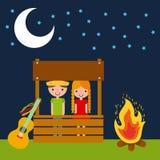 Festivity june illustration vector illustration