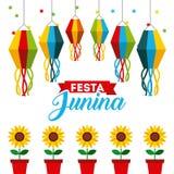 Festivity june illustration. Icon vector design graphic isolated royalty free illustration