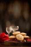 Festivo pique las empanadas Foto de archivo libre de regalías