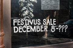 Festivus sale Stock Image