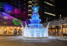 Festiwal światła w Osaka, Japonia Fotografia Stock