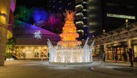 Festiwal światła w Osaka, Japonia Zdjęcie Stock