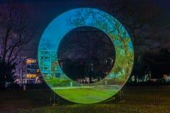 Festiwal 2016-2017 holandii Amsterdam, Amsterdam światło - Obrazy Royalty Free