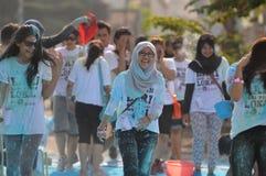 Festiwal kolor w Indonezja obraz stock