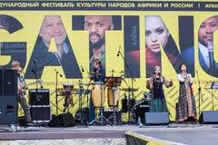 Festiwal krajowa muzyka Zdjęcie Stock