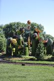 Festiwal MosaiCanada 150 od Parkowego Jacques Cartier od Gatineau w Ontario prowinci fotografia stock