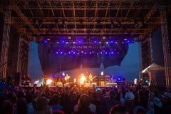 Festiwal muzyki Topfest 2015, Piestany, Sistani Zdjęcia Stock