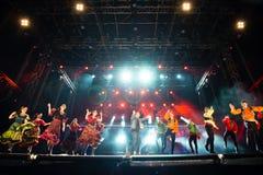 Festiwal muzyki Topfest 2015, Piestany, Sistani Obraz Royalty Free