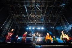 Festiwal muzyki Topfest 2015, Piestany, Sistani Fotografia Royalty Free