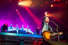 Festiwal muzyki Topfest 2015, Piestany, Sistani Fotografia Stock