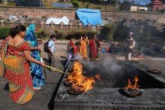 festiwal Nepal obraz royalty free