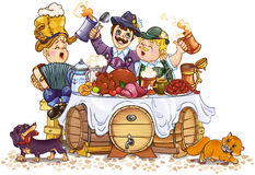 festiwal oktoberfest ilustracja wektor