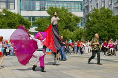 Festiwal Ostrava ulicy 2015 Zdjęcie Royalty Free