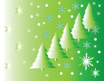 festiwal płatek śniegu Obrazy Royalty Free