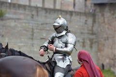 Festiwal średniowieczna odbudowa Zdjęcia Stock