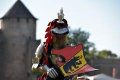 Festiwal średniowieczna odbudowa Zdjęcie Royalty Free