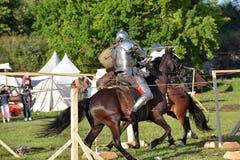 Festiwal średniowieczna odbudowa Obraz Royalty Free