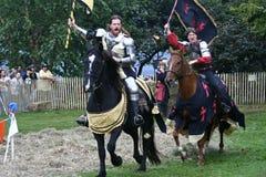 festiwal średniowieczny nowy York Obraz Royalty Free